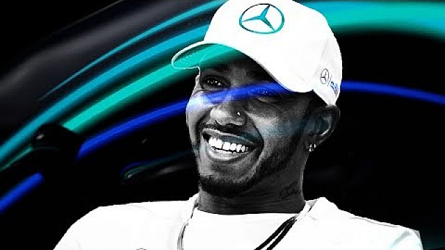 Up Close & Personal with Lewis Hamilton!