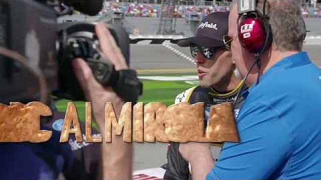 Nascar on FOX Aric Almirola Daytona 500 pre-race feature (2018)