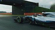 Presentación Mercedes W09 F1 2018 ESP
