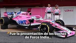 El primer día de pruebas de F1 en Barcelona LAT