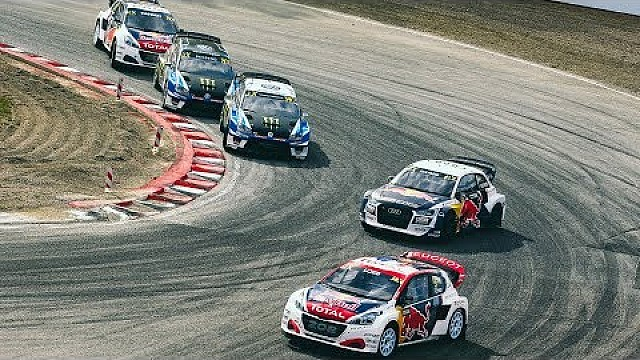 Sebastien Loeb reigns supreme in front of roaring home crowd