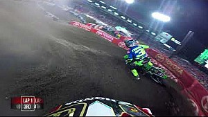 Cole Seely heat race 2018 Monster Energy Supercross from Tampa