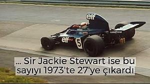 F1 tarihindeki en başarılı pilot