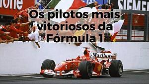 Os pilotos mais vitoriosos da F1