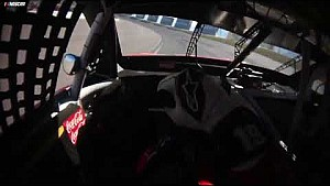 In-car: Suarez shows windy, bumpy conditions at Vegas