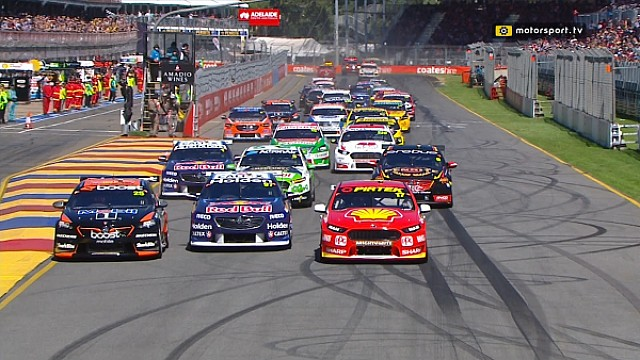 Virgin Australia Supercars - Adelaide 500 Race 1 Highlights