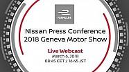 2018 Geneva International Motor show : Nissan Formula E Live unveil