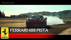 Ferrari 488 Pista - Official Video