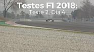 Testes F1 2018: Teste 2, Dia 4