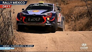 Rally Mexico day one - Hyundai Motorsport 2018