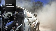 Le crash d'Elfyn Evans au Mexique