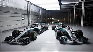 Vergleich: Mercedes W08 vs. W09