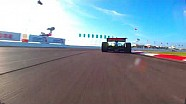 Nose cam: James Hinchcliffe at the 2018 firestone Grand Prix of St. Petersburg