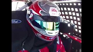 Driver Ryan Reed in action at California!