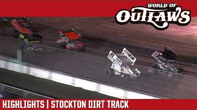 World of Outlaws Craftsman sprint cars Stockton dirt track March 17th, 2018 | Highlights