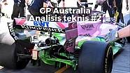 Analisis teknis 2 F1 GP Australia 2018