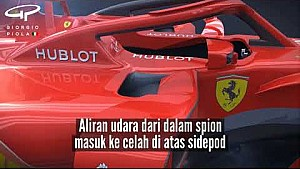 Ferrari F1 2018 vs 2017 | Analisis 3D #2