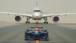 ¡Fórmula E y Qatar Airways se enfrentan en Doha en una nueva sociedad!