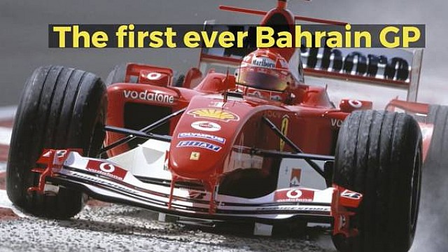 The first ever Bahrain Grand Prix
