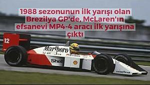 1988 Brezilya GP - McLaren MP4-4'ün ilk yarışı