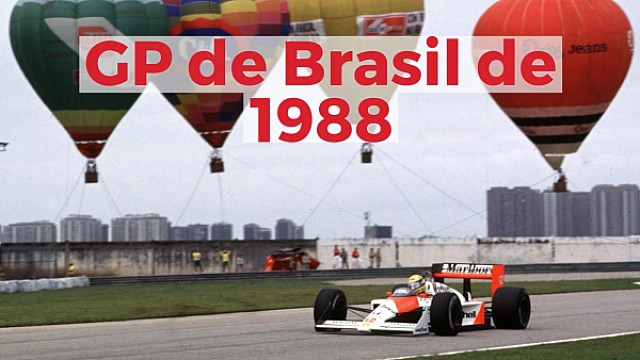 Racing Stories: el Gran Premio de Brasil de 1988