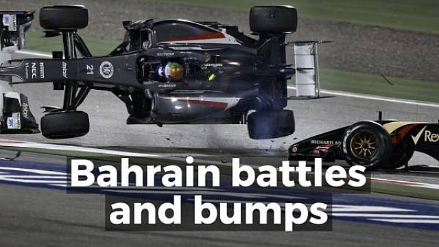 Bahrain battles and bumps