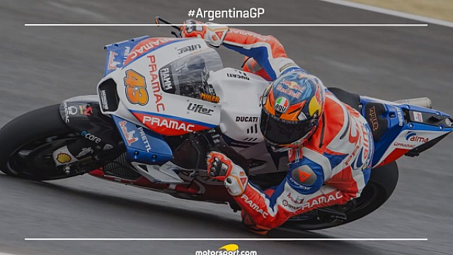 Starting Grid MotoGP Argentina 2018