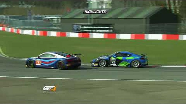GT4 European Series - Zolder - race 2 highlights