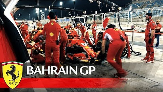 Bahrain Grand Prix - Behind the scenes