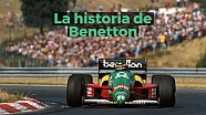 La historia de Benetton en F1 ESP