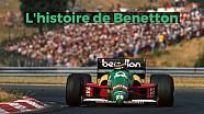 L'histoire de Benetton en Formule 1