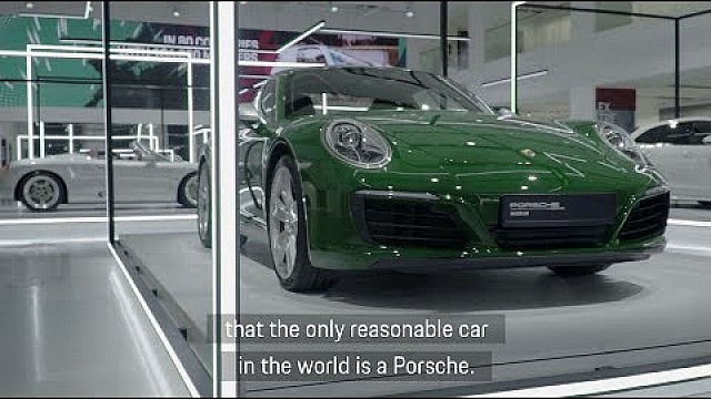 "Porsche opens ""70 years of Porsche sportscars"" temporary exhibition in Berlin."