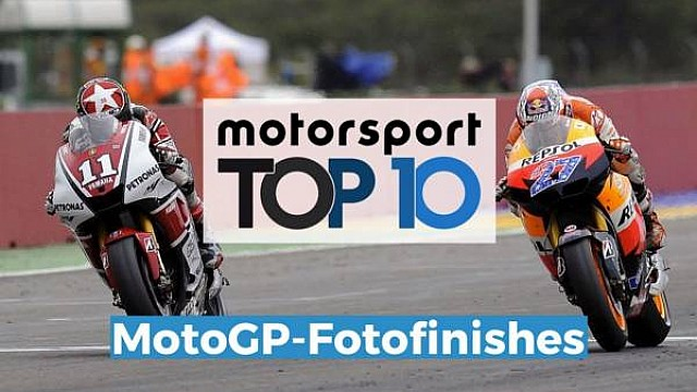 Top 10: MotoGP-Finishes