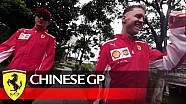 Chinese Grand Prix - getting ready