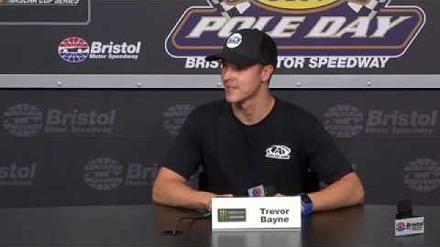 Trevor Bayne talks Bristol at his 'home track' in Tennessee