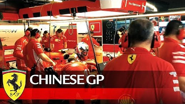 Chinese Grand Prix - land of contrasts