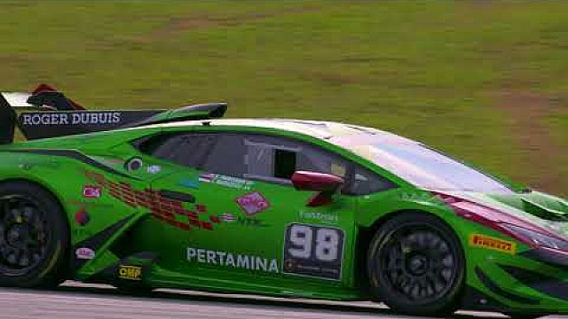 Lamborghini Super Trofeo Asia 2018 round 1 - Sepang: race 1 highlights