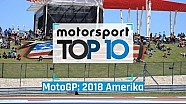 MotoGP TOP 10 - 2018 Amerika GP