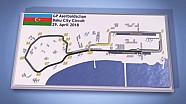 Streckenvorschau: Baku City Circuit