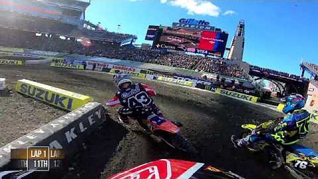 Jordon Smith main event 2018 Monster Energy Supercross from Foxborough
