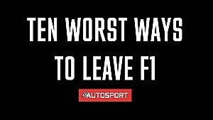 Top 10 Worst Ways to Leave F1