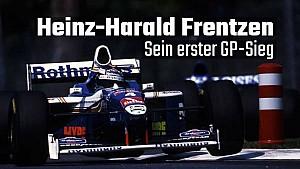 Der 1. Sieg von Heinz-Harald Frentzen