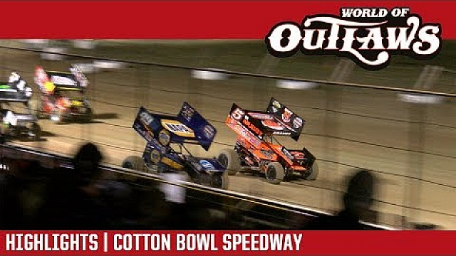 Craftsman sprint cars Cotton Bowl speedway April 26, 2018 | Highlights