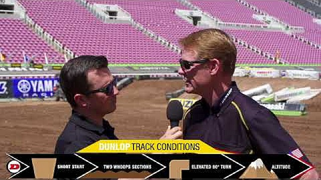 Dunlop track condition report - Salt Lake City, UT