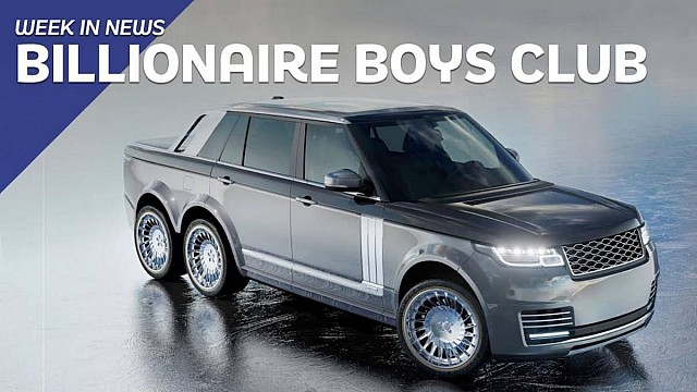 Motor1 UK - Week In News - Billionaire Boys Club