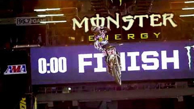 Supercross Jason Anderson vs. Marvin Musquin 2018