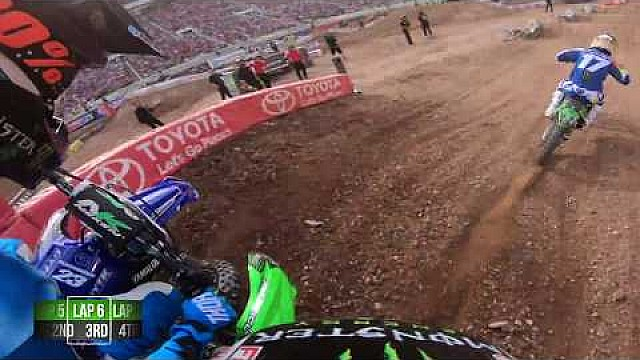 Cianciarulo vs. Mcelrath 2018 Monster Energy Supercross from Salt Lake city