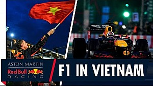 F1 hits the streets of Vietnam for the first time!