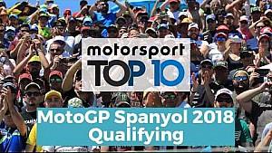 Top 10 Highlights Qualifying | MotoGP Spanyol 2018