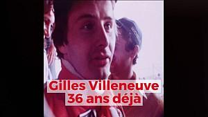 Retour sur la carrière de Gilles Villeneuve